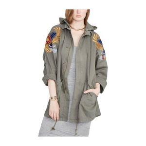 Rachel Roy Utility Green Jacket - XL